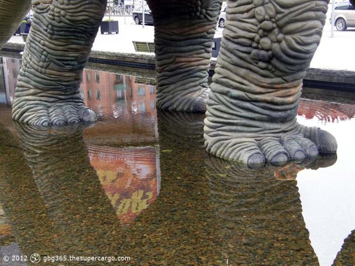 Dino feet