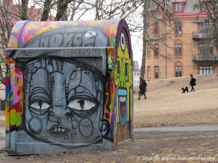 Graffiti faces 3