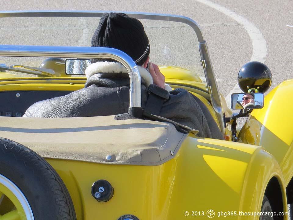 Sunshine supercar detail