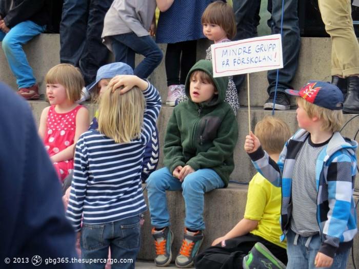 Pre-school protest 3