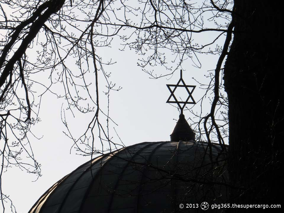 The Jewish cemetary - Star of David