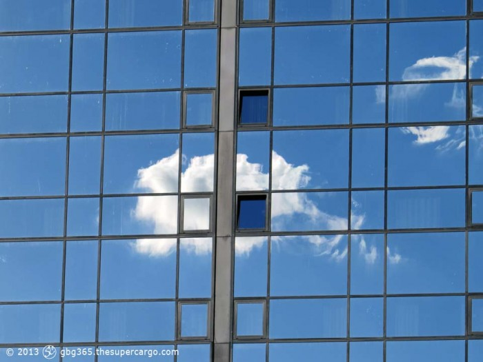 A window in a cloud
