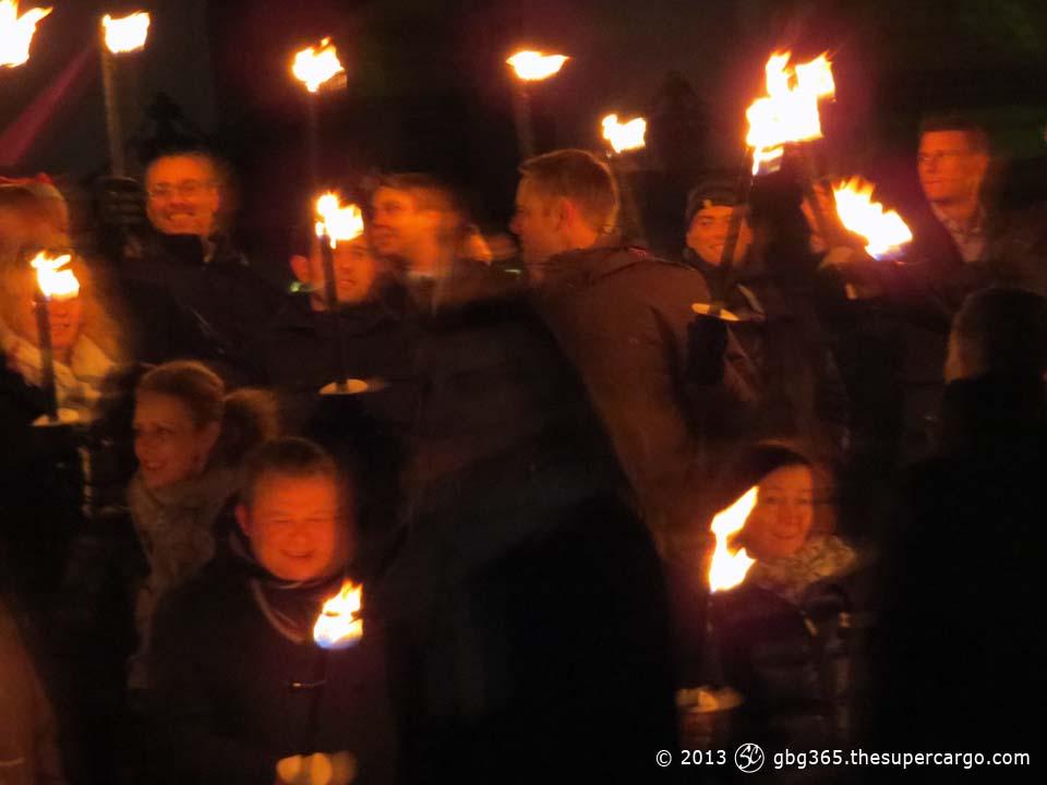 Torchlight at Götaplatsen 2