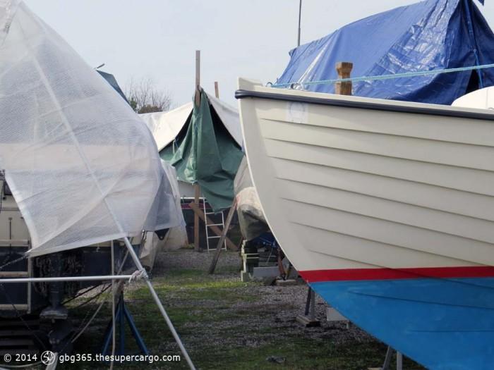 Still winter boatyard 1
