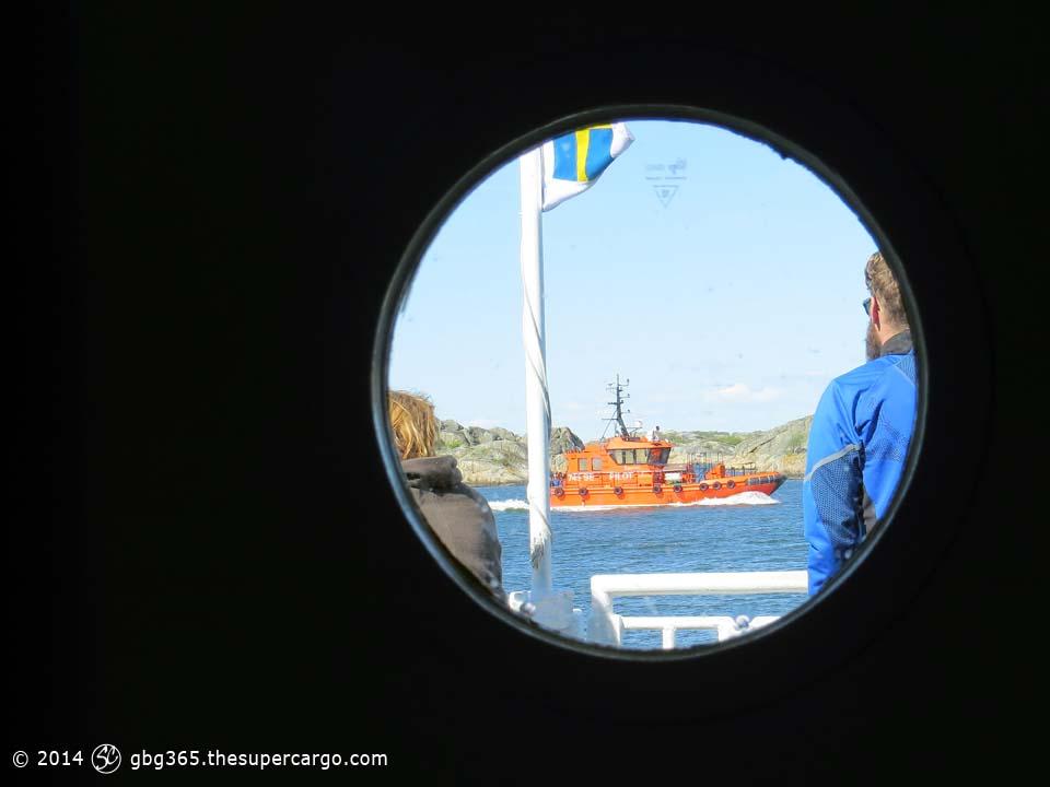 The pilot through the portho