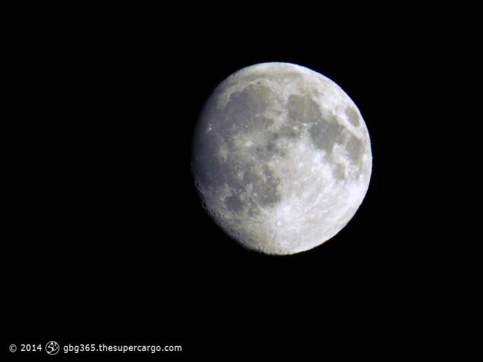 Nearly a full moon