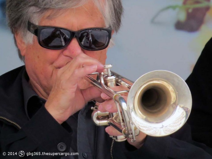 Sir Bourbon trumpeter