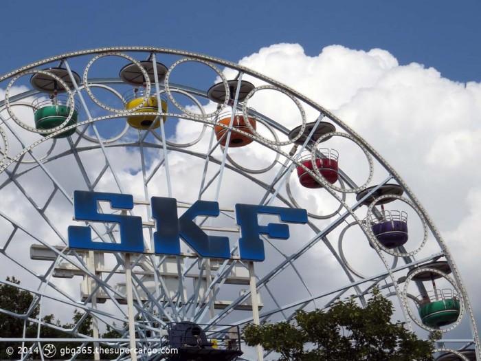 Liseberg rides - SKF ferris wheel