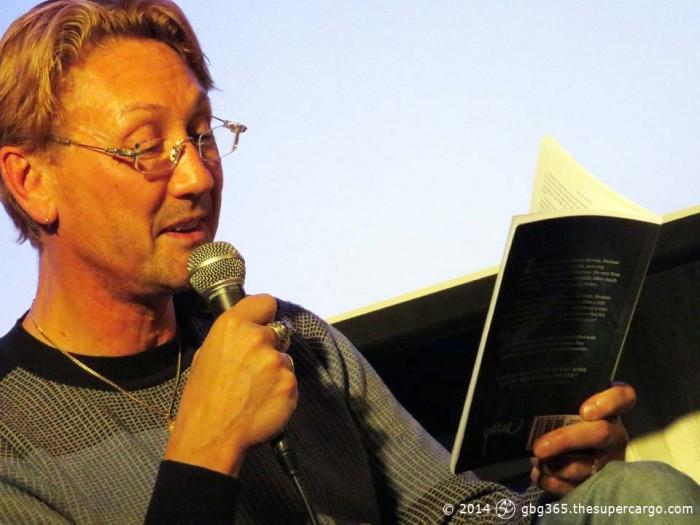 Hans Hirschi reading