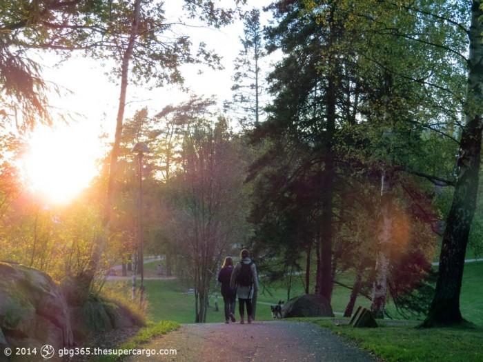 In Renströmska Parken