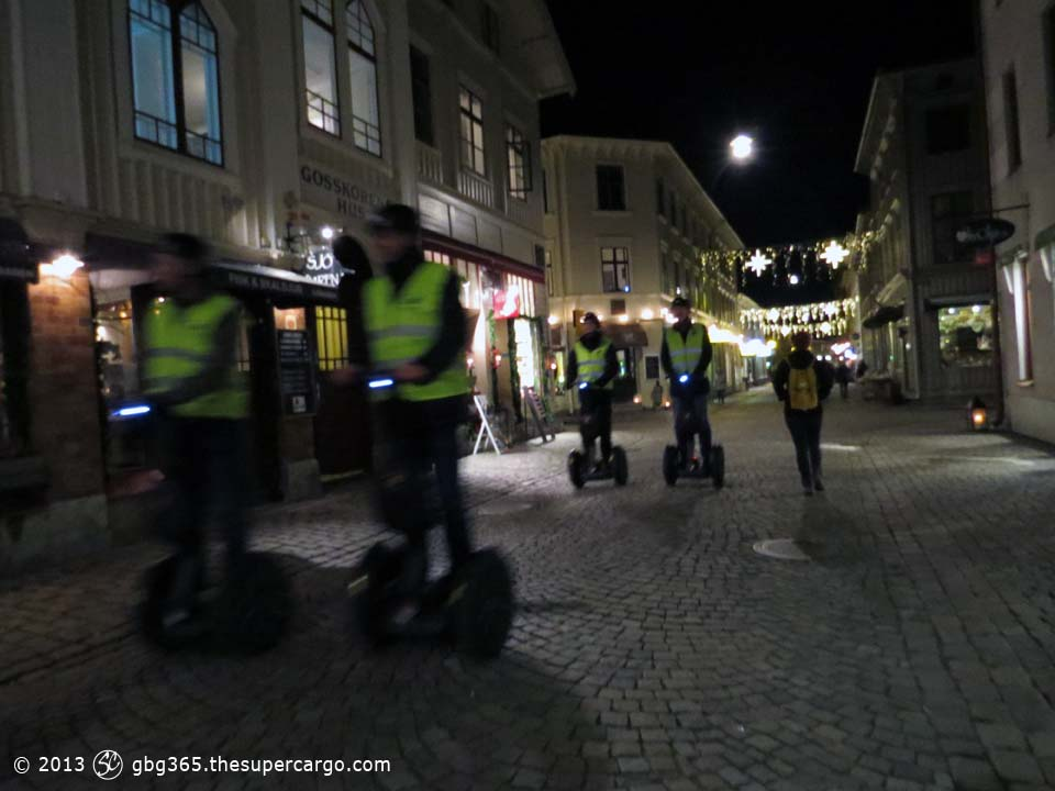 By Segway through Haga