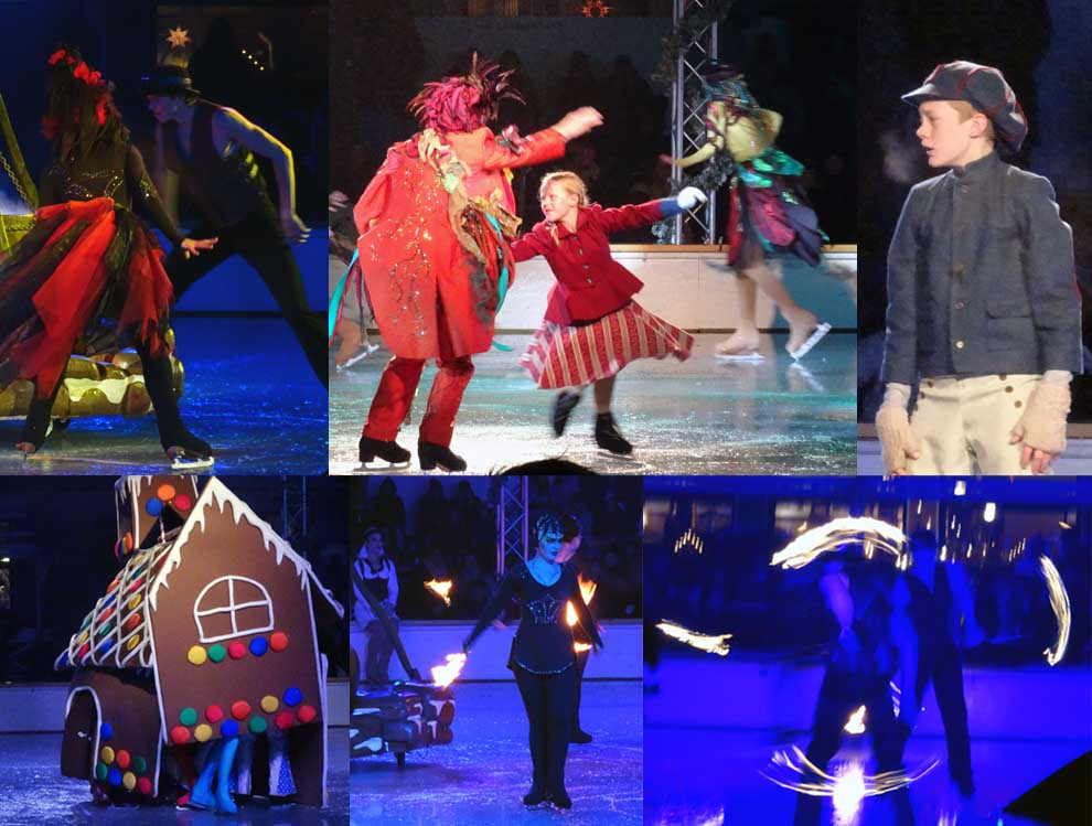 Hansel and Gretel on Ice at Liseberg Winter 2015