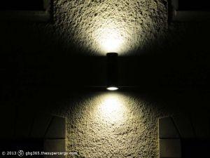 A light and four windows