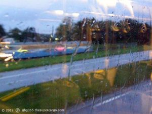 Through a rainy window