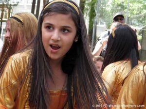 Kurdish golden girl